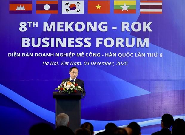 湄公河国家与韩国的合作对促进区域经济一体化发挥重要作用 hinh anh 2