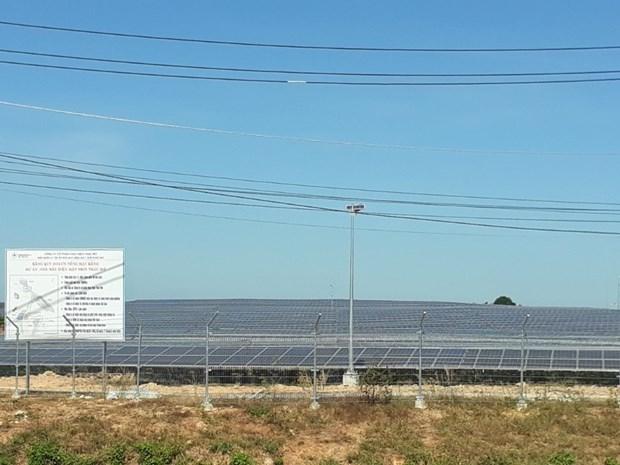 梦瀑布太阳能发电厂正式落成 hinh anh 2