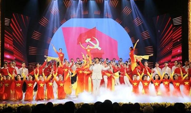 党建:2020年第五次党建工作全国新闻奖颁奖仪式在河内隆重举行 hinh anh 2
