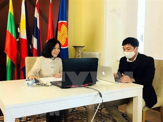 越南圆满结束东盟罗马委员会轮值主席国任期 hinh anh 1