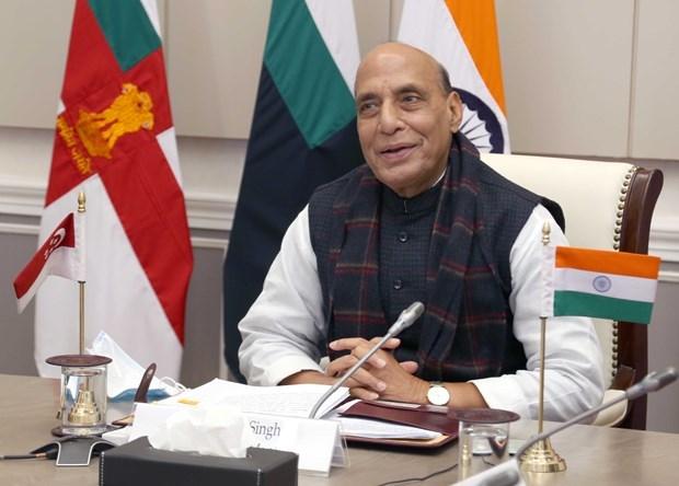 第5次印度与新加坡国防部长对话以视频形式召开 hinh anh 1