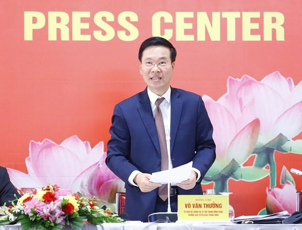 武文赏:越共十三大——越南党、人民和国家发展过程中的重要里程碑 hinh anh 1