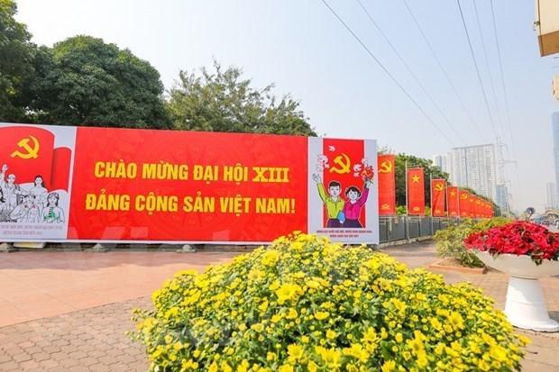 全国人民相信越共十三大将推动国家可持续发展 hinh anh 1