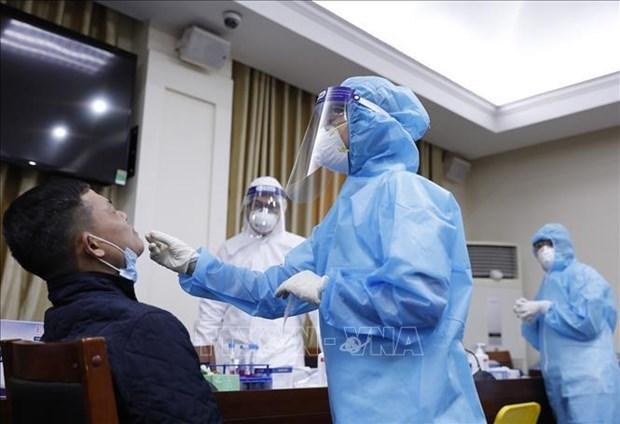 越共十三大的全部代表和工作人员第二次新冠病毒检测结果都是阴性 hinh anh 1