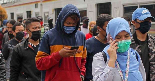 印度尼西亚350万名劳动者因新冠肺炎疫情而失业 hinh anh 1