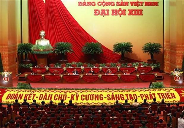 越南共产党第十三次全国代表大会筹备会召开 hinh anh 1
