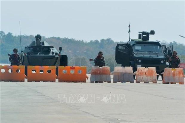 外交部提醒在缅甸越南公民注意安全 hinh anh 1