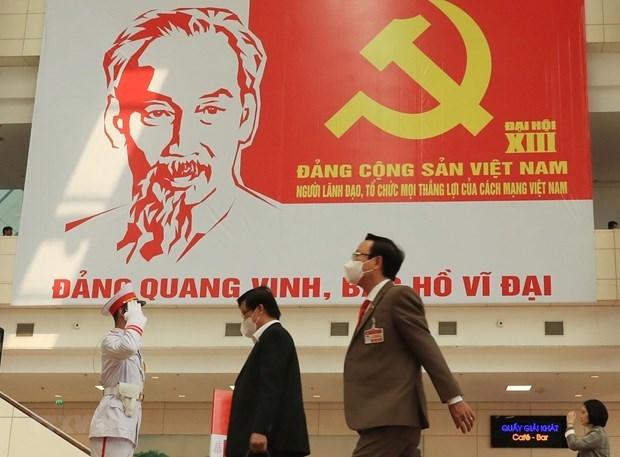 越共十三大:意大利共产党高度评价越共十三大取得的成功 hinh anh 1