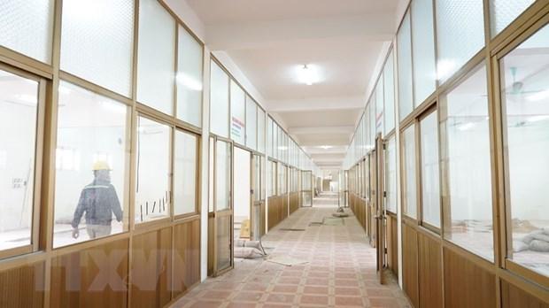 新冠肺炎疫情:海阳省3号野战医院于2月6日竣工投运 hinh anh 1