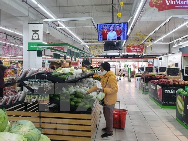 2021年1月越南商品零售与服务业增长态势较好 hinh anh 1