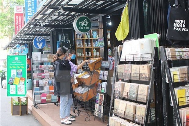 """胡志明市书街:丰富人民精神生活的""""文化套餐"""" hinh anh 1"""