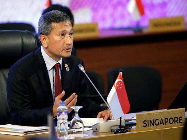 新加坡与美国重申推进更深更广合作的承诺 hinh anh 1
