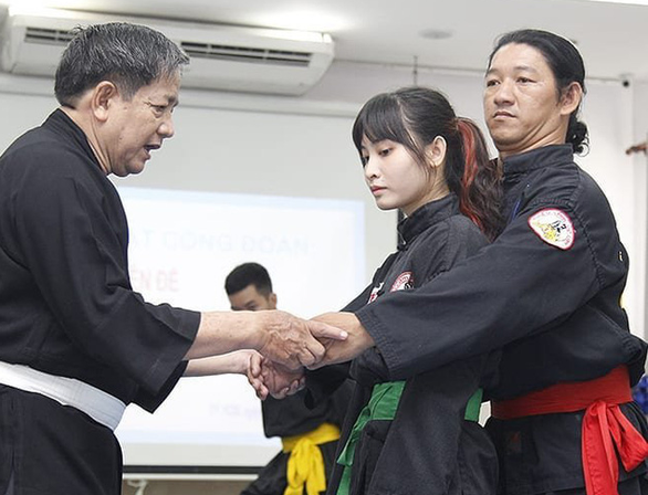 茶婆新庆武术被列入国家级非物质文化遗产名录 hinh anh 1