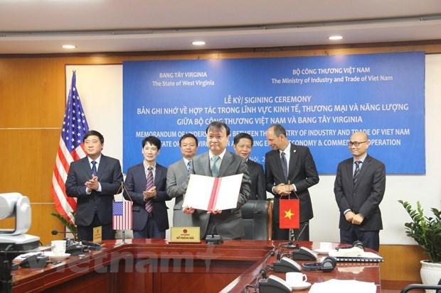 越南与美国西弗吉尼亚州提升合作水平 hinh anh 1
