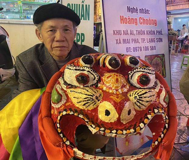 猫狮子舞——谅山省的国家非物质文化遗产 hinh anh 3