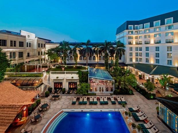 河内索菲特大都市传奇酒店连续第二年排在《福布斯旅游指南》五星酒店评级名单首位 hinh anh 1