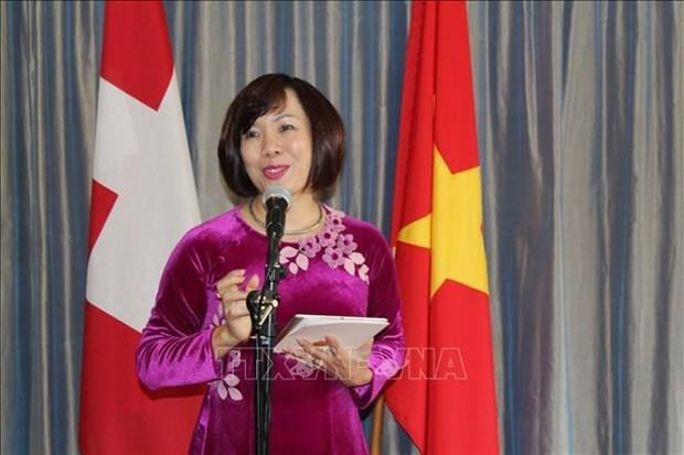 越南市场视频研讨会在瑞士举行 hinh anh 1