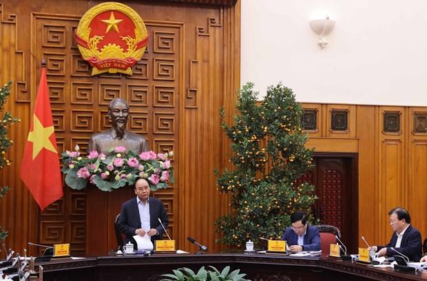 政府总理阮春福高度评价社会政策银行在减贫中的作用 hinh anh 1