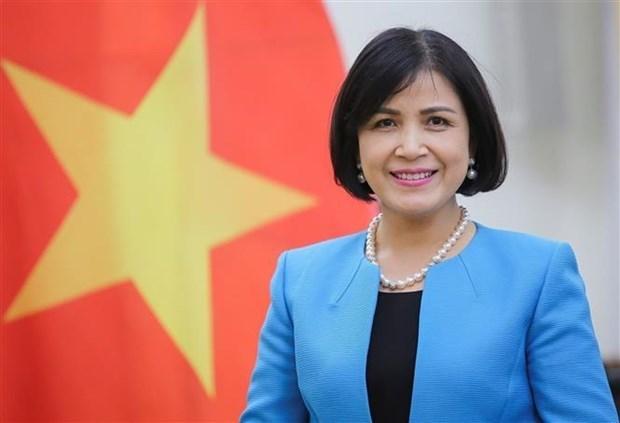 越南驻日内瓦代表团纪念国际妇女节111周年和双征夫人起义1981周年 hinh anh 1