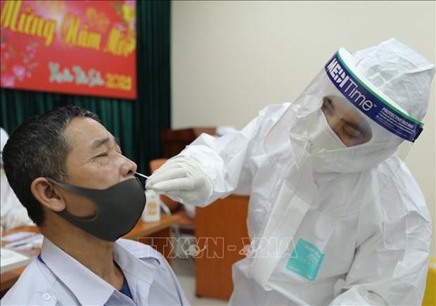 3月16日上午越南海阳省金城县新增2例新冠病例 hinh anh 1