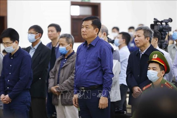 富寿省乙醇案件:被告人丁罗升被判处有期徒刑11年 hinh anh 1