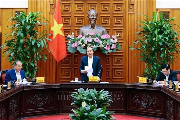 政府常务委员会讨论西贡河河岸各码头搬迁事宜 hinh anh 1