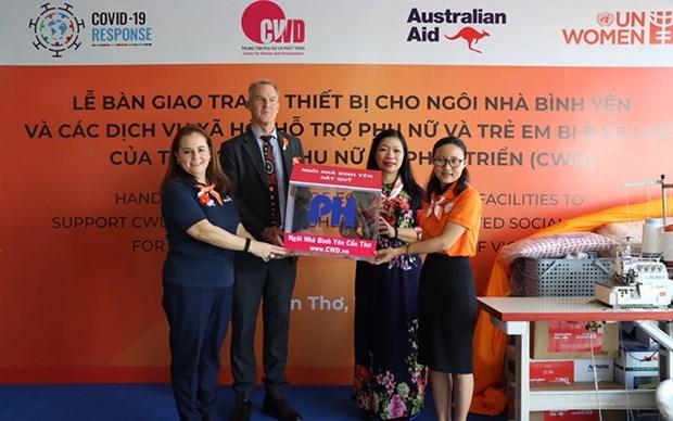 升级越南遭受性别暴力的妇女和儿童的服务系统 hinh anh 1