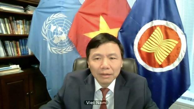 越南与联合国安理会:越南呼吁树立互信和加强叙利亚各方之间对话 hinh anh 2