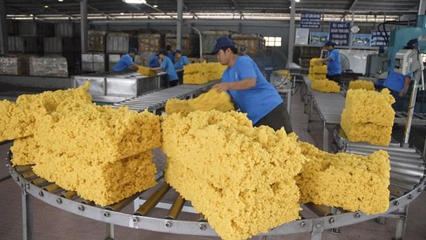 2021年前两个月越南橡胶出口量同比增长89.9% hinh anh 1