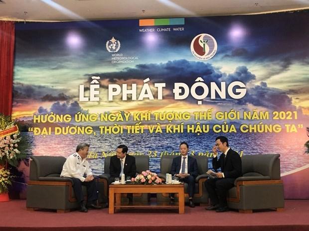 越南积极响应2021年世界气象日 hinh anh 1