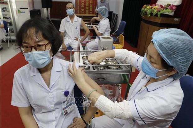 扎实有序做好新冠疫苗接种工作 hinh anh 1