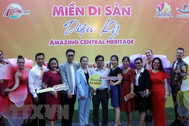 """越南中部四省推出""""奇妙遗产之地""""的旅游刺激计划 给游客提供有趣体验 hinh anh 1"""