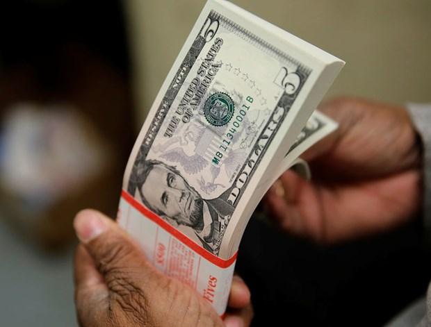 今日上午越盾对美元汇率中间价下调1越盾 hinh anh 1