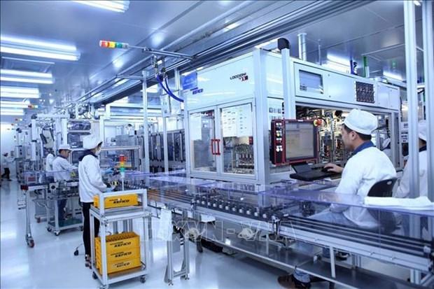 2021年前3月越南吸引外资增长18.5% hinh anh 1