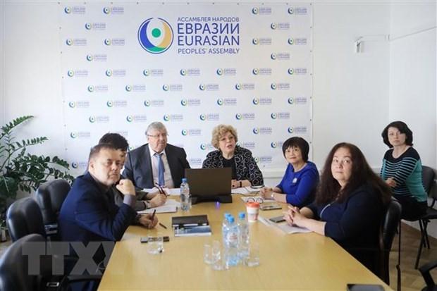 关于越南在亚欧空间中的作用的国际研讨会在俄罗斯举行 hinh anh 1