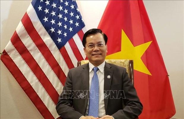 越南建议与美国合作生产新冠疫苗 hinh anh 1