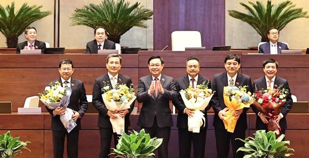 国会选举产生国会专门委员会委员、国会秘书长和审计署审计长 hinh anh 1