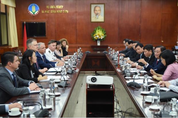 越南与美国合作促进负责任农业产业发展 hinh anh 1