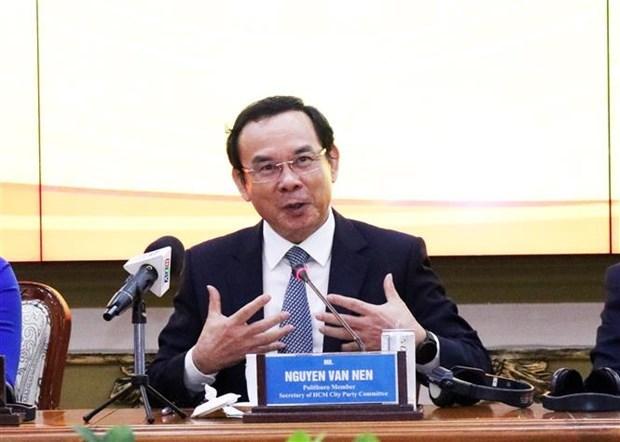 推进胡志明市与各国际伙伴合作关系发展 hinh anh 1