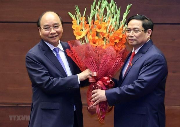 外国领导人发来贺电贺函 祝贺越南新上任的领导人 hinh anh 1