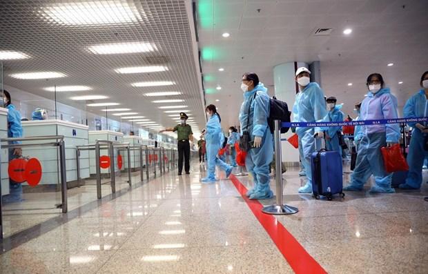 加强对入境岘港市的越南公民的管控 hinh anh 1