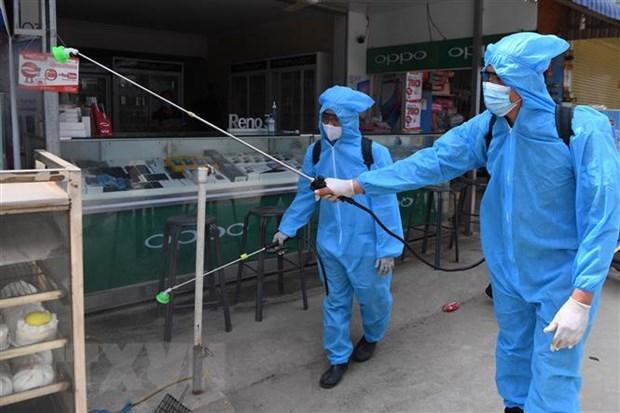 新冠肺炎疫情:柬埔寨首都金边进入封锁 hinh anh 1
