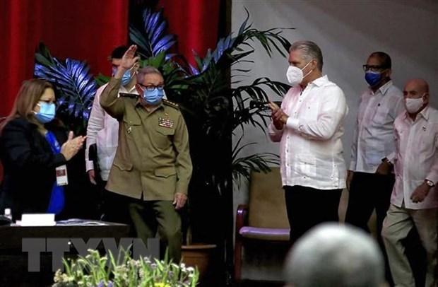 越共中央致电祝贺古巴共产党第八次全国代表大会召开 hinh anh 1