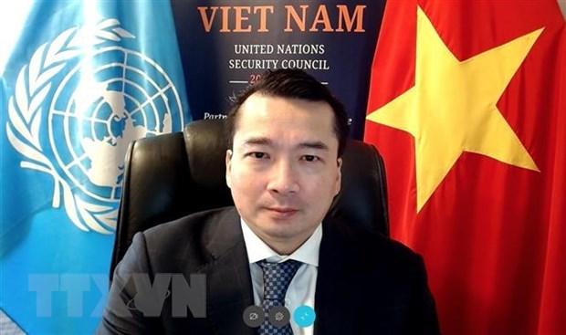 越南与联合国安理会:通过有关利比亚局势的两份决议并就防止大规模杀伤性武器进行讨论 hinh anh 1