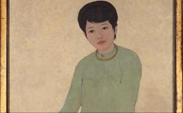 越南画家的绘画作品《芳女士的画像》以310万美元高价成交 hinh anh 1