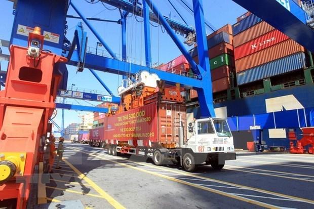 海防新港国际集装箱港从5月1日起可迎来13.29万DWT集装箱船 hinh anh 1