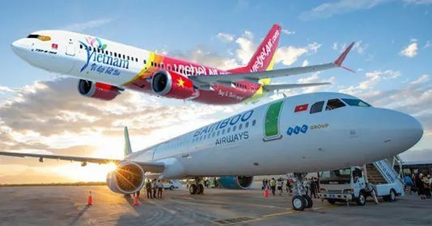 越美两国企业加强航空基础设施领域的合作 hinh anh 1