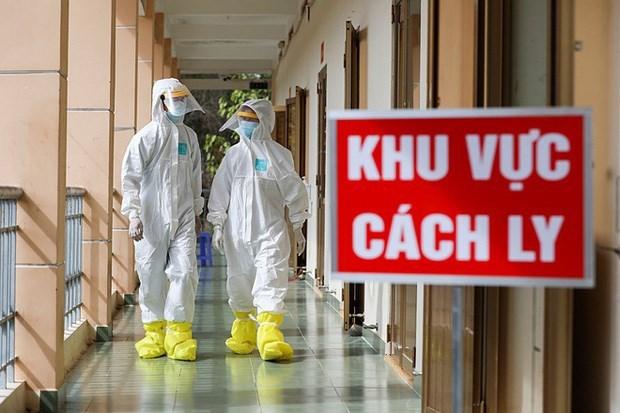 越南政府对通过陆路口岸回国的公民提供免费隔离 hinh anh 1