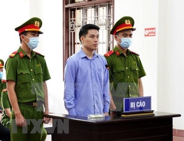 """越南和平省对""""传谣破坏国家""""两名分子判处有期徒刑16年 hinh anh 1"""