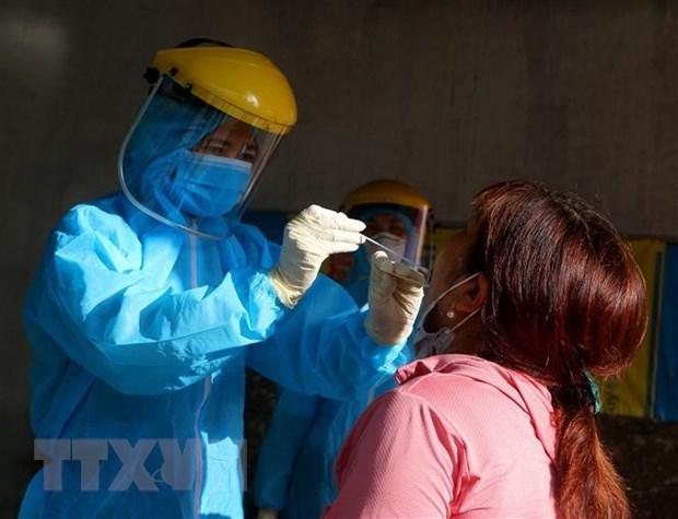 5月16日中午越南新增6例本地新冠肺炎确诊病例 hinh anh 1